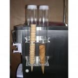 Distributeur de cornet - 2 tubes
